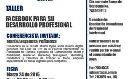 """ACPI les invita al Taller: """"Facebook para su desarrollo profesional"""""""