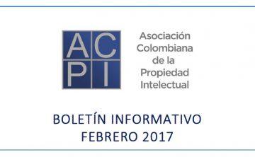 Boletín de Noticias ACPI – Febrero 2017