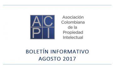 Boletín de noticias ACPI agosto – 2017