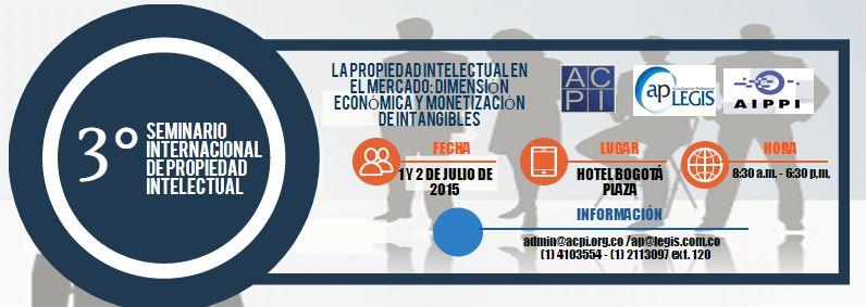 INVITACIÓN: III SEMINARIO INTERNACIONAL DE PROPIEDAD INTELECTUAL