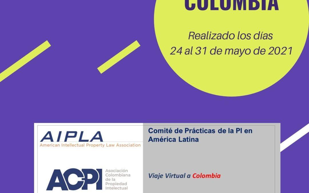 VIAJE VIRTUAL AIPLA A COLOMBIA